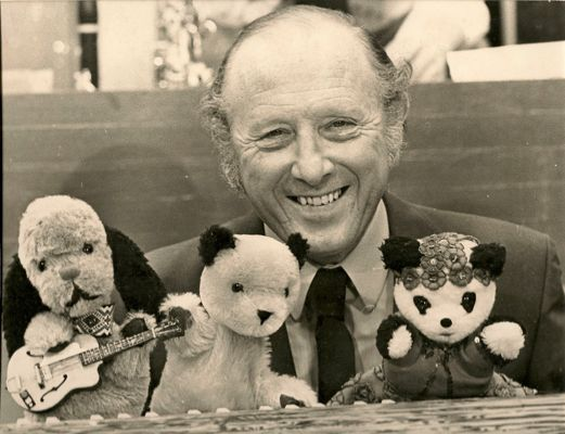Harry Corbett with Sooty, Sweep and Sue was first broadcast on the BBC on October 28, 1949.