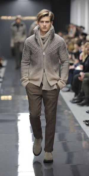 Ermanno Scervino, eleganza disinvolta Collezioni Inverno 2011/2012 - Magazine Uomo   Abbigliamento.it