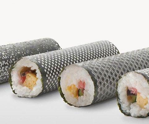 designer-sushi: lasercut-sushi-nori