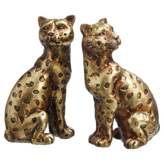 Decoratie Luipaard Goud Kopen Bestel Online Of Kom Naar Een Van Onze Winkels Kwantum Daar Woon Je Beter Van Luipaard Decoratie Goud