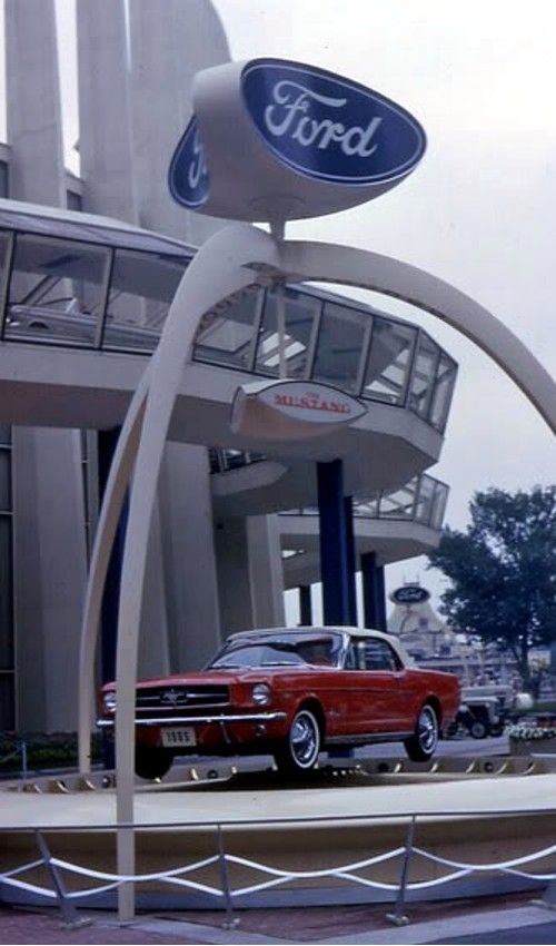 New York World's Fair introduction of the Ford Mustang at the Ford Pavillion, 1964 NY World's Fair