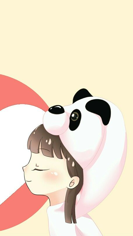 Couple Ilustration Panda And Bear Ilustrasi Karakter Kartun Animasi