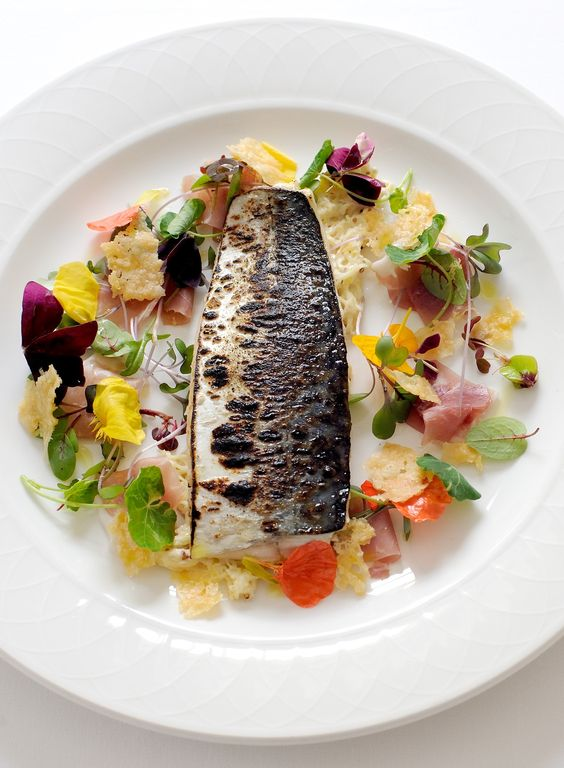 A glorious barbecued mackerel recipe from Great British Menu favourite Paul Ainsworth, this mackerel dish is perfect for fish lovers. Accompanied by a dreamy celeriac mayonnaise, this seafood recipe works brillantly with Parma ham and a simple mixed salad.