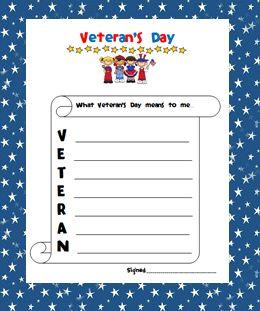 writing the veterans working day speech