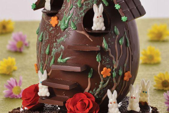 Ovo Casa de Chocolate - Mavalério   Receitas