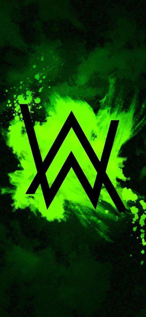 Alan Walker Logo Wallpaper 4k New Alan Walker Walker Wallpaper Walker Logo