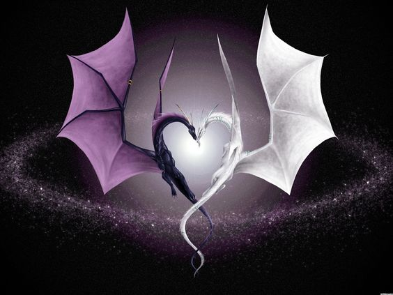 Wallpaper desktop black love 1305877013 love black dragons white wallpaper