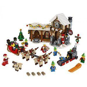 知育玩具 レゴブロックレゴ クリエイター 専門家 サンタのワーク