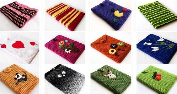 Capa De Crochê Para O Notebook « Coisas Que Gosto