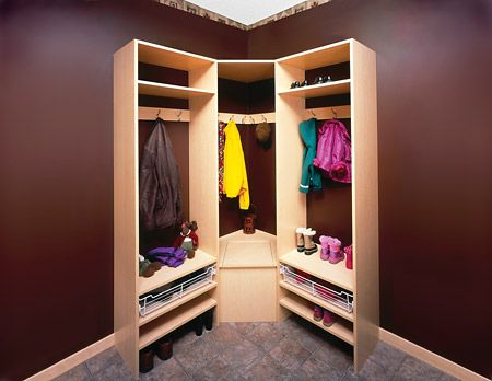 DIY corner closet Ideas to try for the home