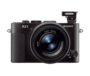 The world's 1st full-frame digital compact camera, the Cyber-shot RX1.