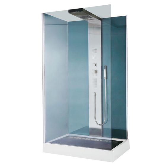 cabine de douche hydromassante welle chez castorama prix