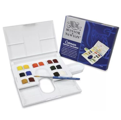 Watercolor Paint 28113 Winsor And Newton Cotman Water Colours