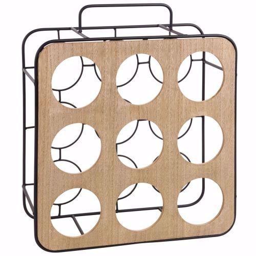 Portabottiglie Per 9 Bottiglie Su Maisons Du Monde Dai Un Occhiata Ai Nostri Mobili E Oggetti Decorativi E Fai I P In 2020 Divani Design Maisons Du Monde Bottle Rack