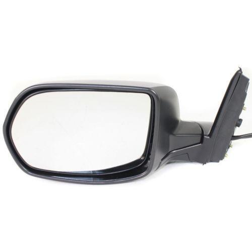 2007-2011 Honda CR-V Mirror LH, Power, Heated, Manual Folding, Textured Black