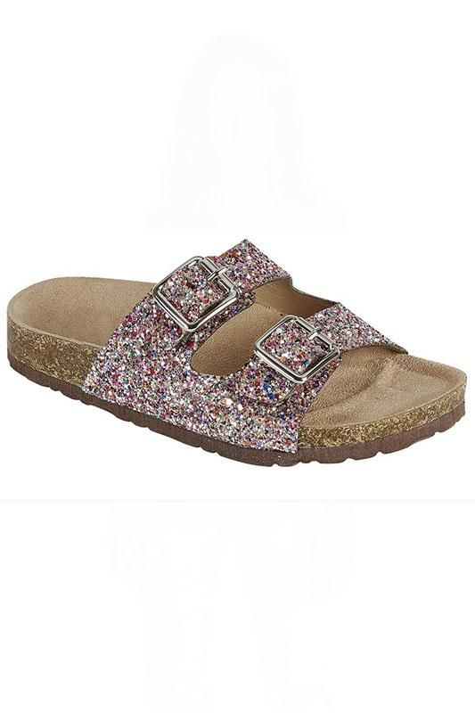 birkenstock glitter shoes