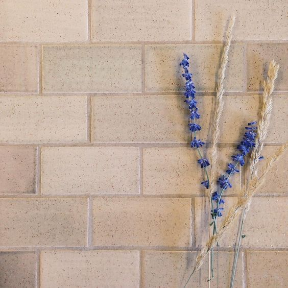 """A neutral tone with beautiful speckles and incredible variation! 2""""x4"""" Subway Tile - 1028 Grey Spice"""