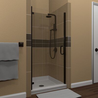 Arizona Shower Door Mp Swinging 27 X 73 Hinged Semi Frameless