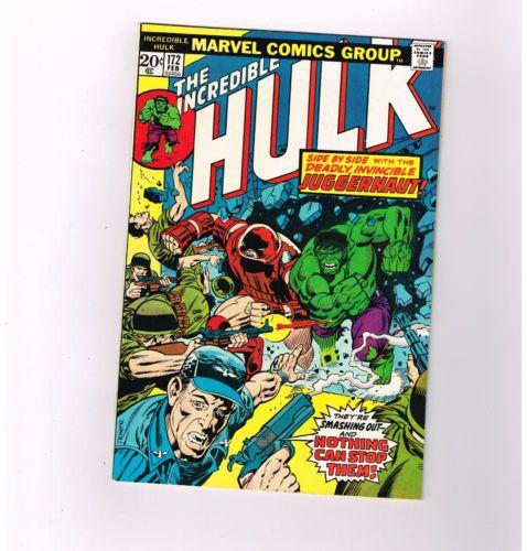 INCREDIBLE HULK #172 Grade 9.4 Bronze Age find guest starring the X-Men! http://r.ebay.com/UirsCA