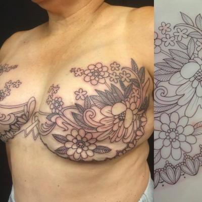 Pinterest the world s catalog of ideas for Heart tattoo nipples