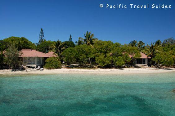 Beach Bungalows at L'Escapade, New Caledonia via BeautifulPacific.com