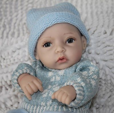 cool 11'' NEW Realistic Lifelike Baby Boy Reborn Baby Dolls Silicone Art Soft Newborn - For Sale Check more at http://shipperscentral.com/wp/product/11-new-realistic-lifelike-baby-boy-reborn-baby-dolls-silicone-art-soft-newborn-for-sale/