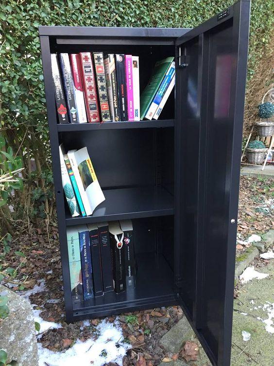 La boîte à livres Hornu