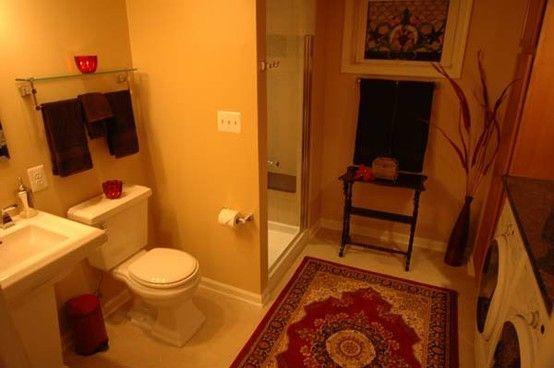 Laundry bathroom combo interior design pinterest for Master closet laundry room combo