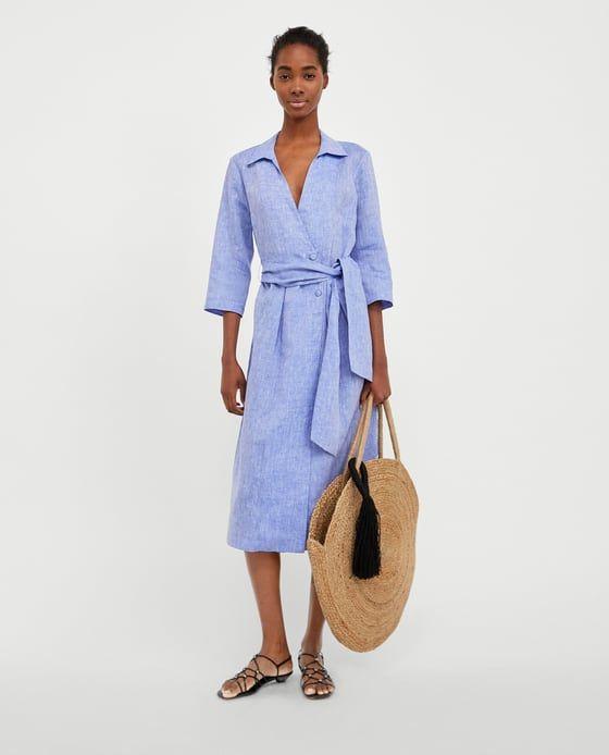 disfruta del precio inferior mejor elección amplia selección Tie dye skirt   Look   Zara dresses, Stylish shirts, Shirt dress