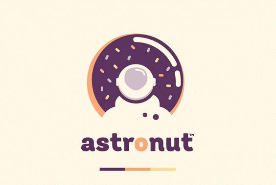 A maravilhosa marca do Astronut – Donuts do Espaço Sideral!