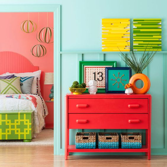 Colorful & inviting