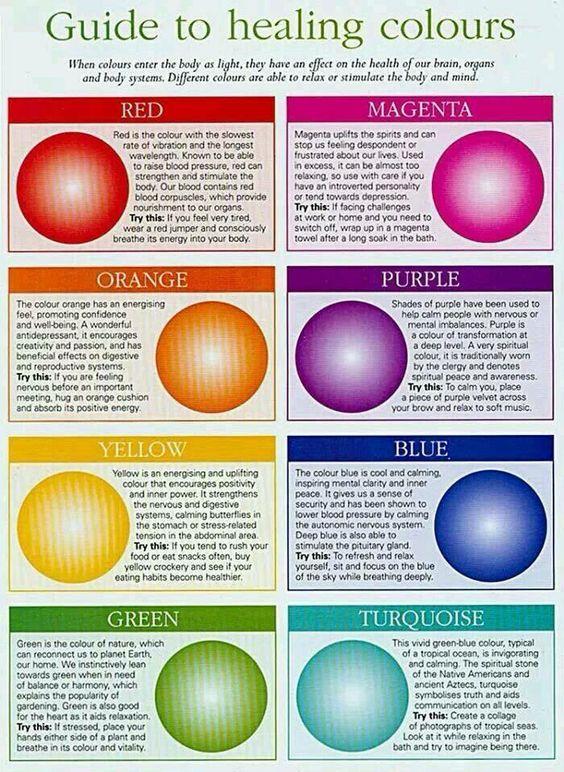 Healing colors More