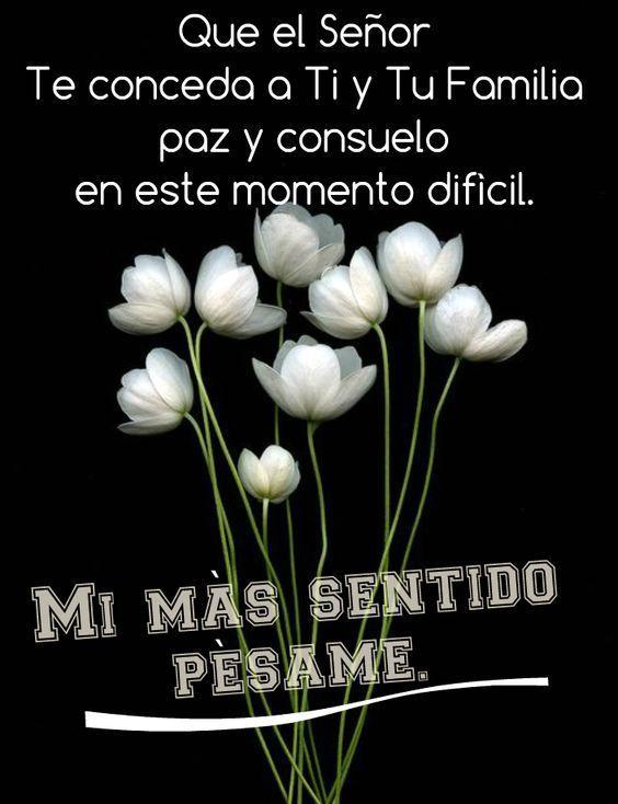 Imagenes Con Frases De Pesame Para Descargar Gratis Condolencias