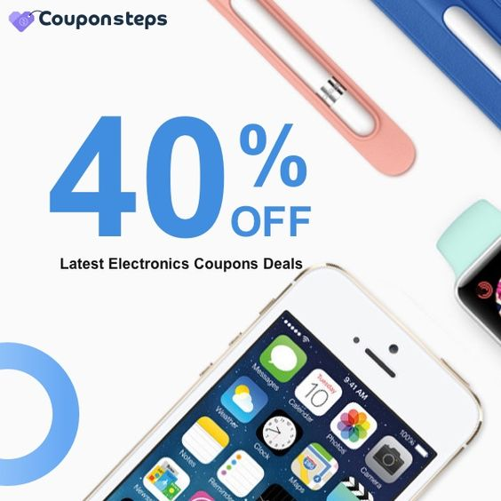 Couponsteps Latest Electronic 40% OFF Deals