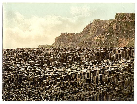 Giant's Causeway. County Antrim, Ireland.