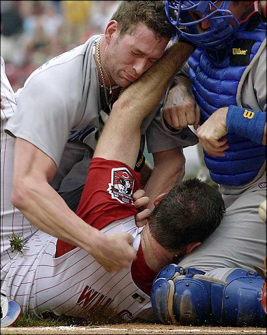 My favorite baseball brawl of all time. Heart Kyle Farnsworth