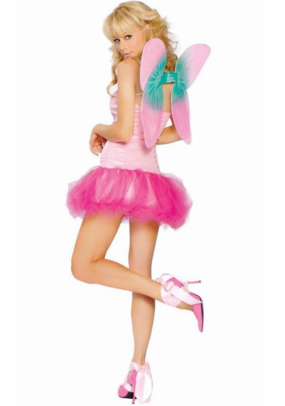 Pink Pixie Fairy Costume # 29.99 : Nymphs and Fairies | Ladies Costumes