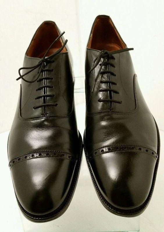 Vintage Rare Alan McAFee London England Cap Toe Dress Shoes ...