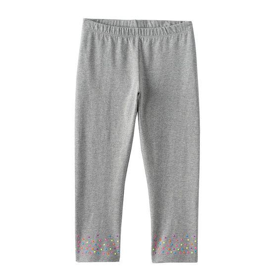 Girls 7-16 & Plus Size SO® Textured Hem Capri Leggings,