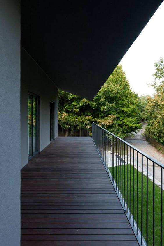Casa NP (NP House) 2013 - Concluída Vista da varanda para norte  photo © #ArménioTeixeira design © #NOARQ, #JoséCarlosNunesdeOliveira