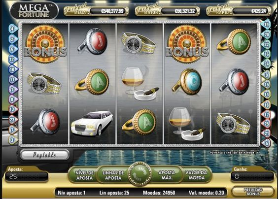 Mega Fortune #slotmachine #slot