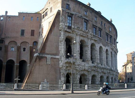 Teatro di Marcello. Roma.