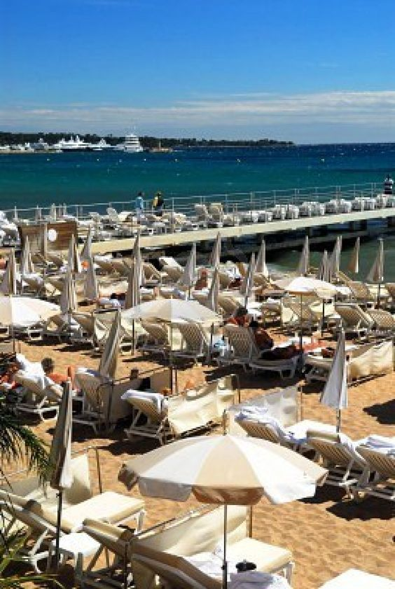 Carlton Beach, Cannes. Make this your next vacation destination with BidKind. Bids cost $1 and benefit charity. BidKind.com