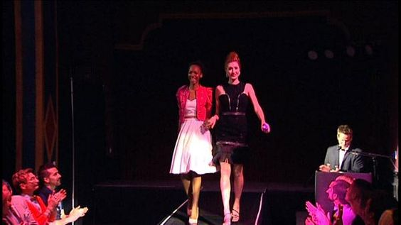LBD Designers - Fashion students compete in little black dress design competition