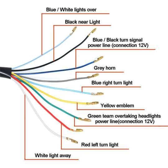 15 Wiring Diagram Universal Motorcycle Headlight Motorcycle Diagram Wiringg Net Motorcycle Headlight Motorcycle Wiring Led Motorcycle Headlight