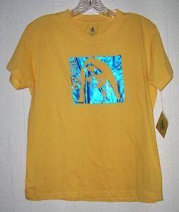 BLONDIE FOIL SHIRT XL 1x punk rock new wave glam yellow debbie harry retro plus