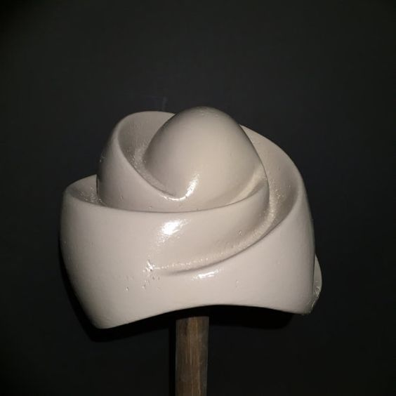 Swirl Top Bubble Beret