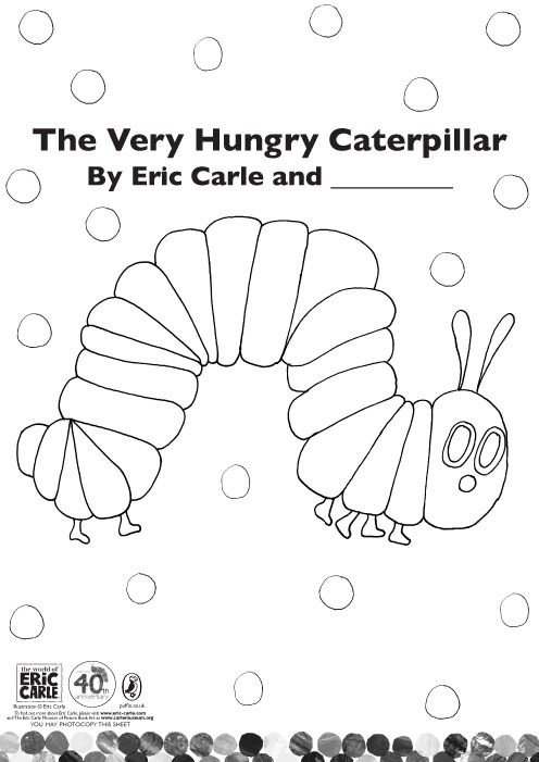 the very hungry caterpillar coloring pages printables - hungry caterpillar caterpillar and printable coloring