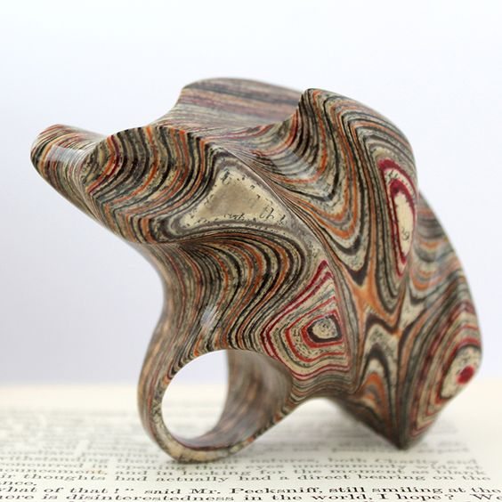 Jeremy May  paper ring: