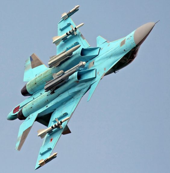 Mig 35 Hd Wallpaper: Sukhoi Su 34 Russian Fighter